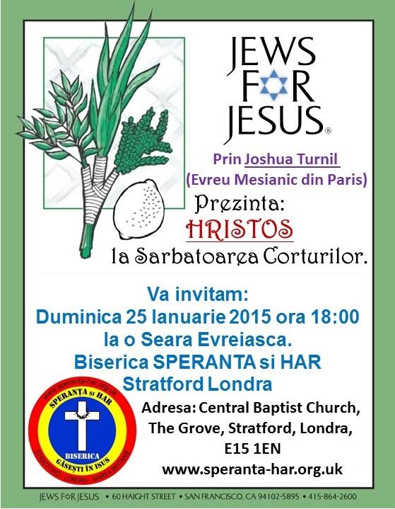 Jews for Jesus 25 Ianuarie 2015 - 1