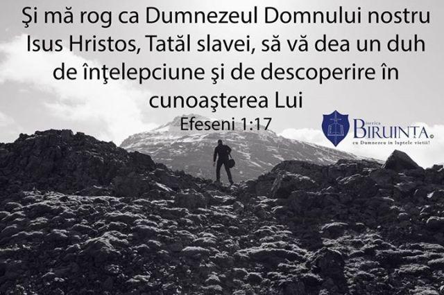 Efeseni 1 17 biserica biruinta londra