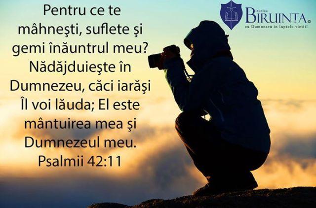 Psalmul 42 11 biserica biruinta londra