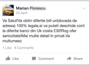 facebook crestin
