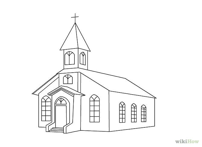 Church Drawing Pictures to Pin on Pinterest - PinsDaddy