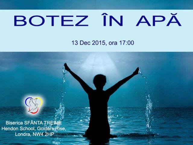 botez sf treime