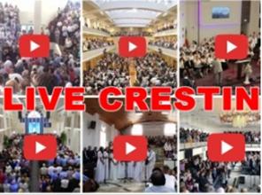 Peste 90 DE BISERICI TRANSMIT LIVE VIDEO