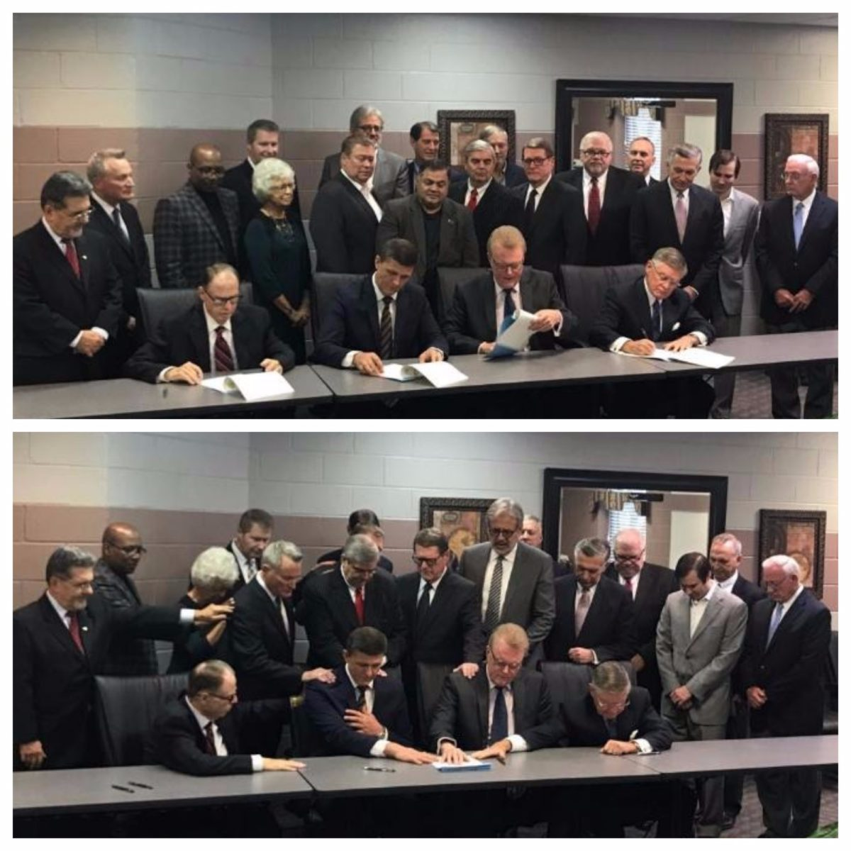 Semnarea unui acord bilateral între Church of God și Institutul Teologic Penticostal