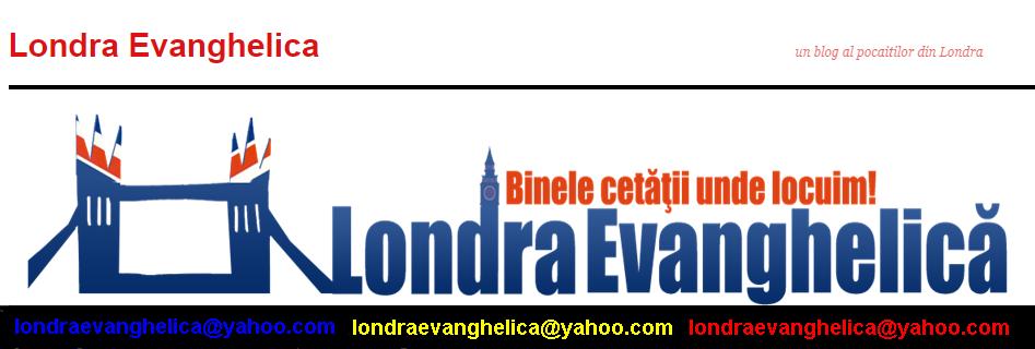 Contact Londra Evanghelica