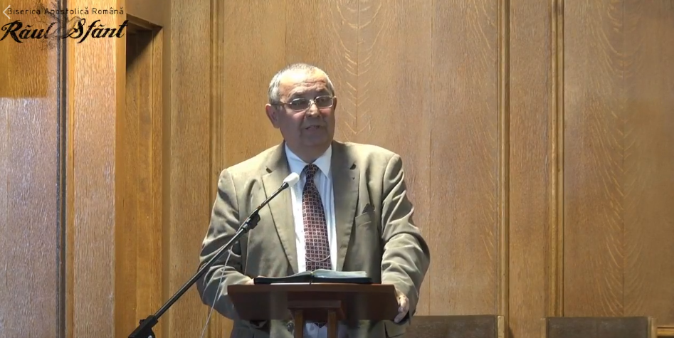 Dr, Pastor Ceuta Ioan la Biserica Raul Sfant – Londra