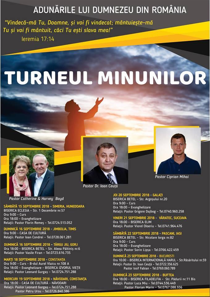 Turneul Minunilor – Adunarile lui Dumnezeu din Romania
