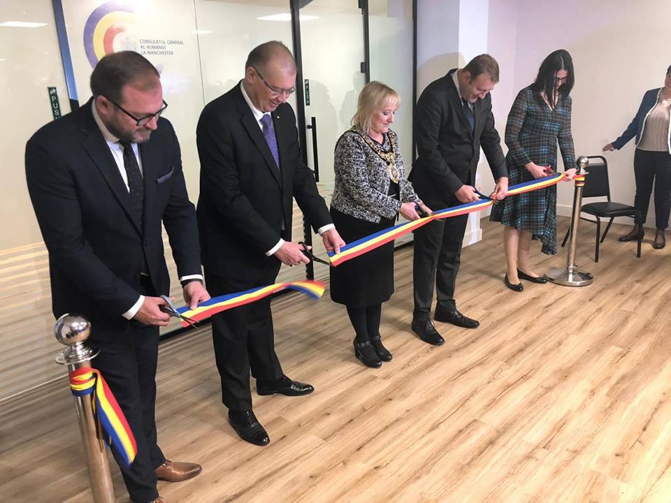 Un nou birou Consular in U.K. , la Manchester