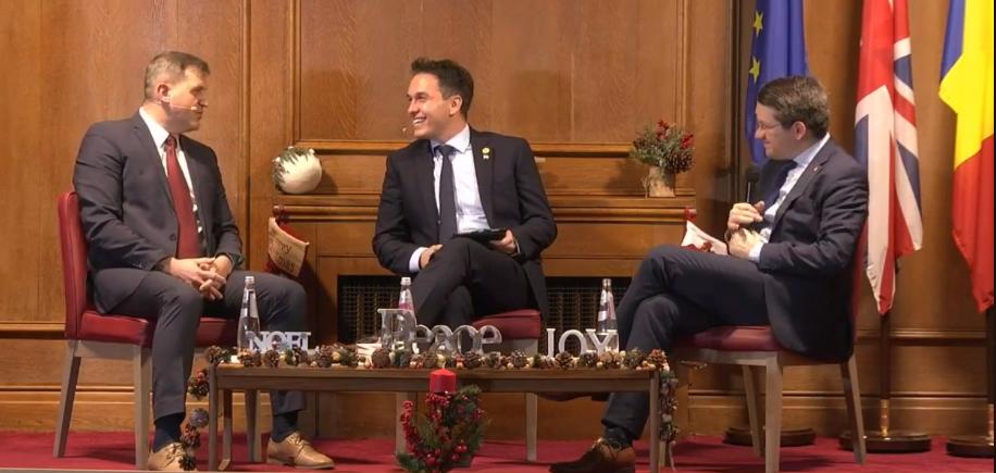 Live – Mihail Neamțu și pastorul Ghiță Mocan la Londra